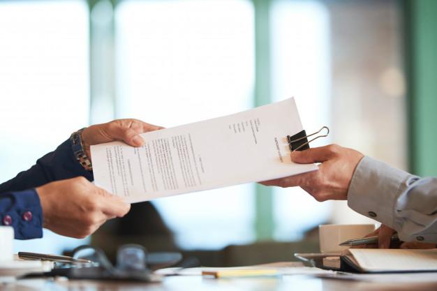 Empresa fazendo alteração contratual