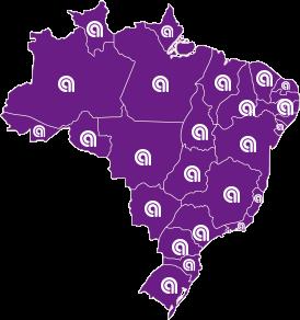Brasil cidades atendidas