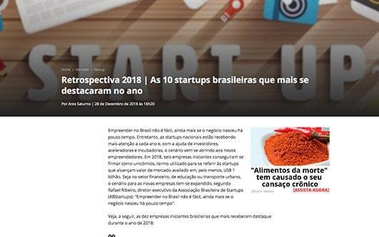 Retrospectiva 2018 | As 10 startups brasileiras que mais se destacaram no ano.
