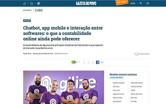 Chatbot, app mobile e interação entre softwares: o que a contabilidade online ainda pode oferecer.