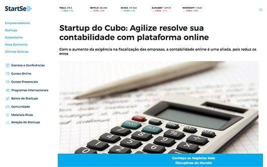 Agilize resolve sua contabilidade com plataforma online.